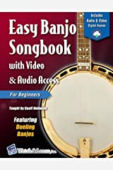 Easy Banjo Songbook For Beginners with Video & Audio Access (Banjo Primer 2) Kindle Edition
