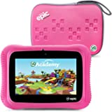 """LeapFrog Epic Academy Edition 7"""" Android 2.0 Based Kids Tablet 16GB with Carrying Case, Pink"""