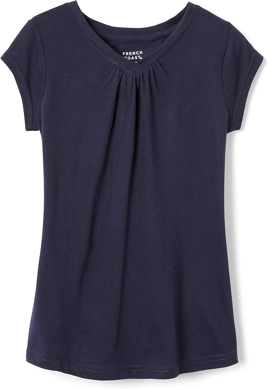 French Toast Girls Short Sleeve V-Neck T-Shirt Tee