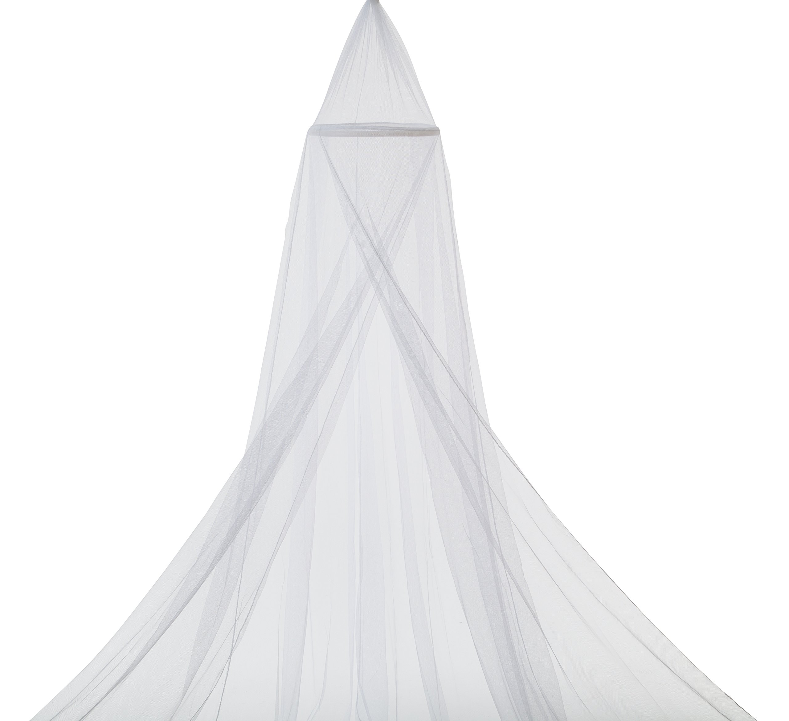 Delta Children Decorative Mesh Canopy, White