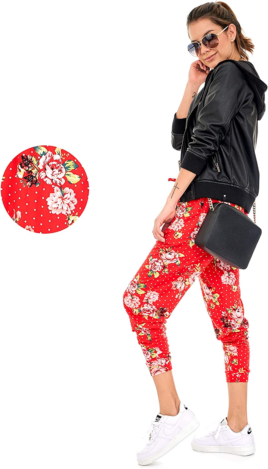 P7 F Plus Size DEAR SPARKLE Jogger with Pockets for Women Drawstring Lightweight Sweats Yoga Lounge Pants