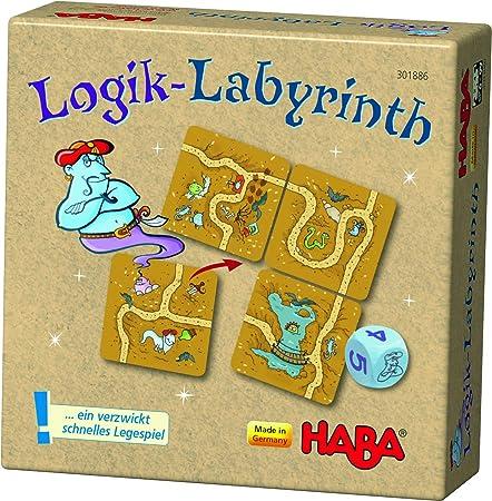 HABA- Logik-Labyrinth (301886): Amazon.es: Juguetes y juegos