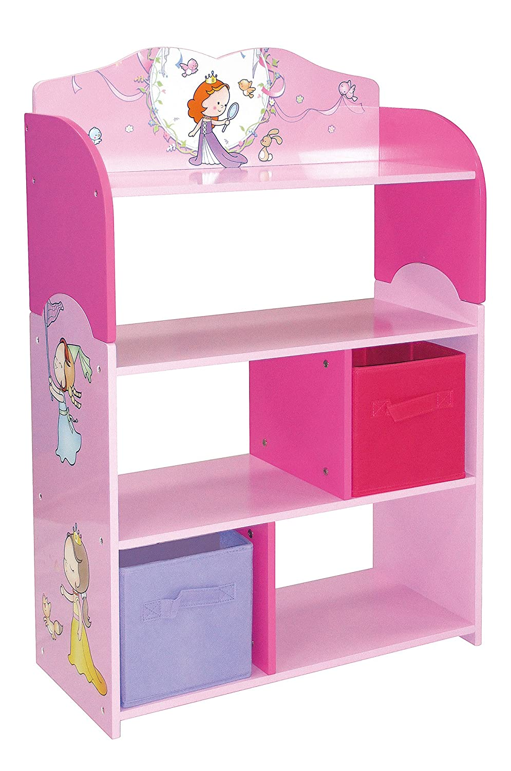 kidkraft princess bookshelf pink master hayneedle shelf bookcase product cfm princessbookcase
