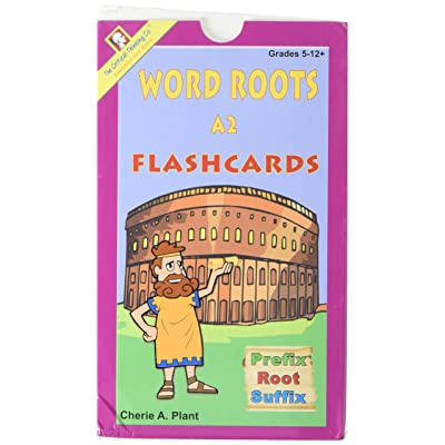 Word Roots Flashcards, Deck A2 (Grades 5-12+): Toys & Games