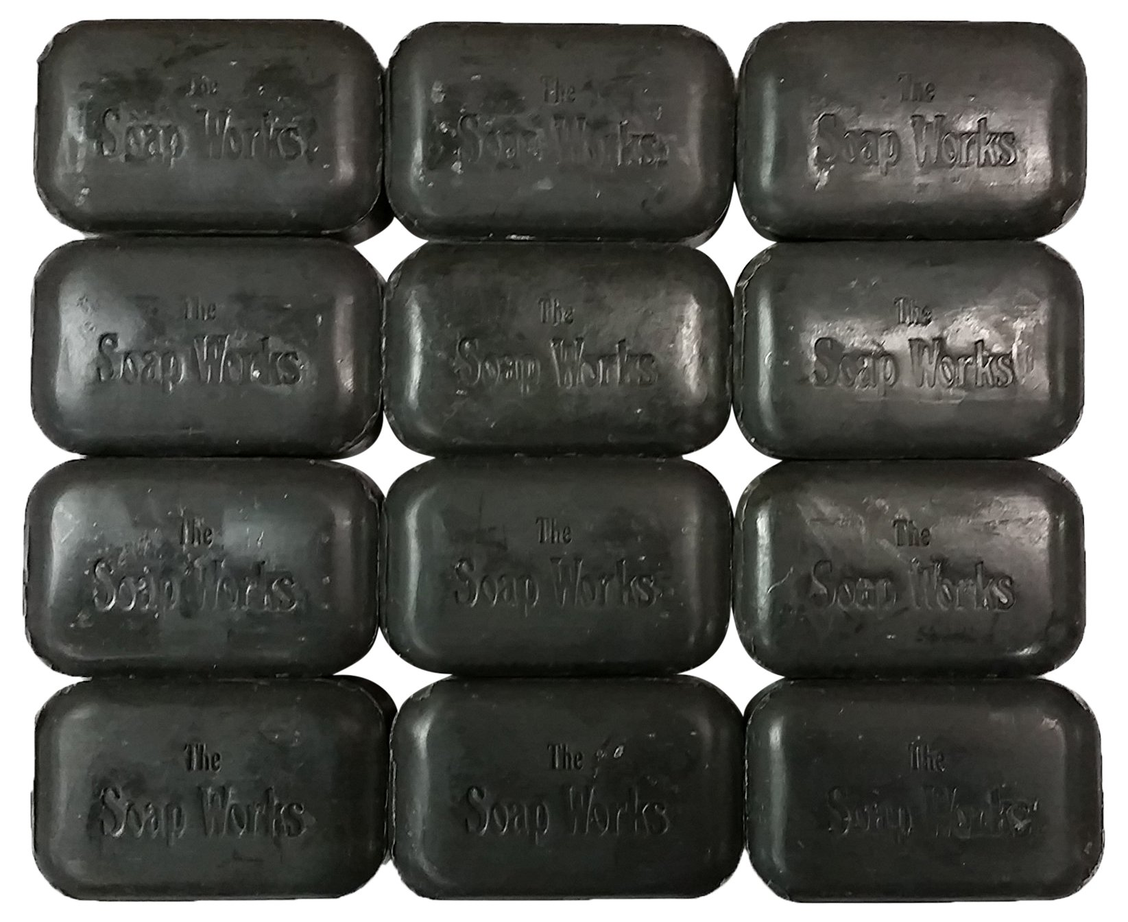 Soap Works Coal Tar Bar Soap - 12 pack by SOAP WORKS