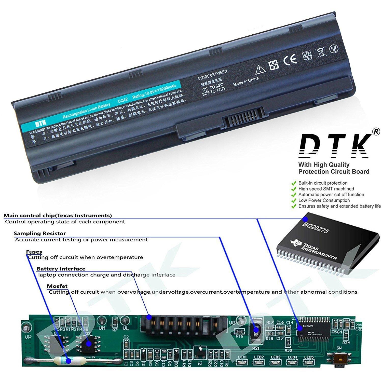 Hp Baterai Laptop For Compaq Cq42 Cq43 430 431 Cq56 Cq32 G42 Dm4 Notebook Presario Pavilion 2000 435 436 630 631 635 636 Cq62 Cq72 1000 G4 G32 G42t G62 G62t G72 G72t Dtk Battery G6 G6t G7