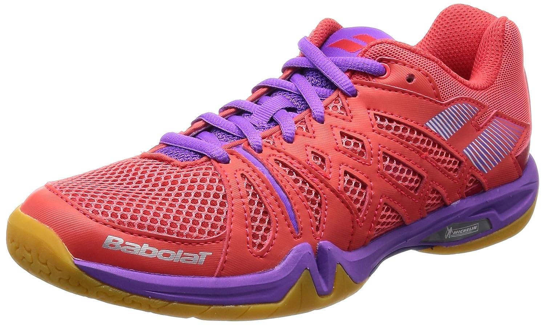Babolat Chaussures de Badminton Shadow Team Femme 2018 31s1806 300 Rose/Violet