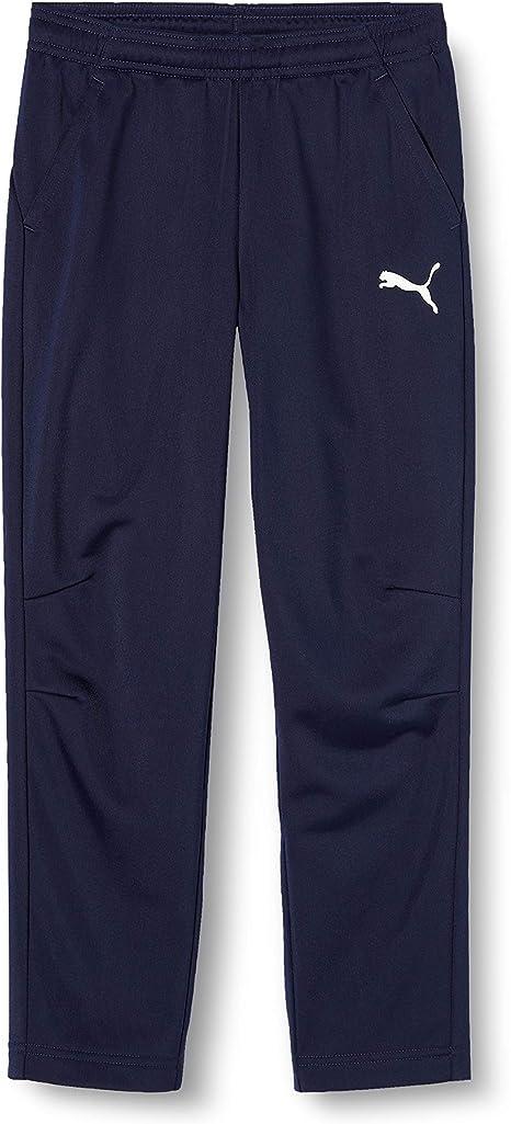 PUMA Liga Training Pants Core Jr Pantalones, Unisex niños: Amazon ...