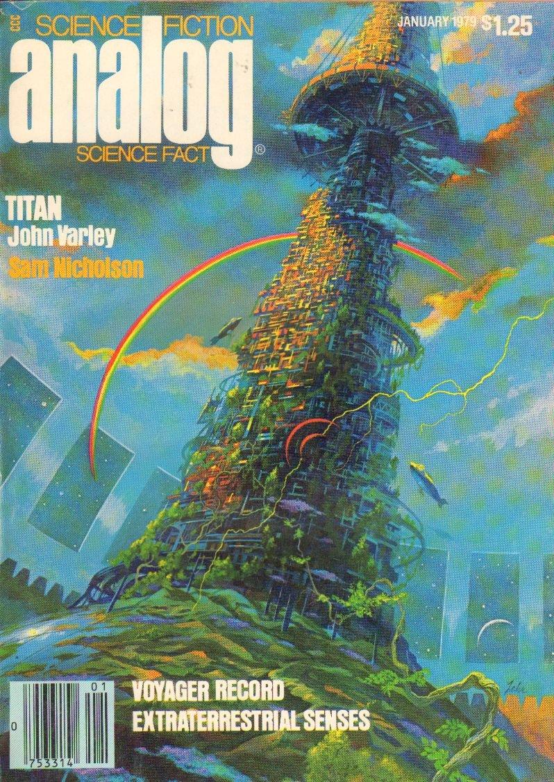 Analog Science Fiction January 1979 Hardcover