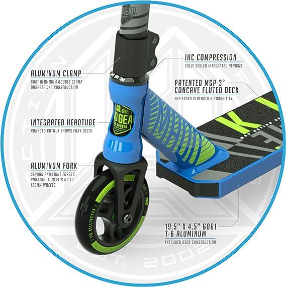 Amazon.com: MADD GEAR MGP Kick Series – Se adapta a niños y ...