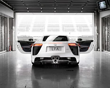 Amazon.com: Lexus LFA Póster de coche cartel decoración de ...