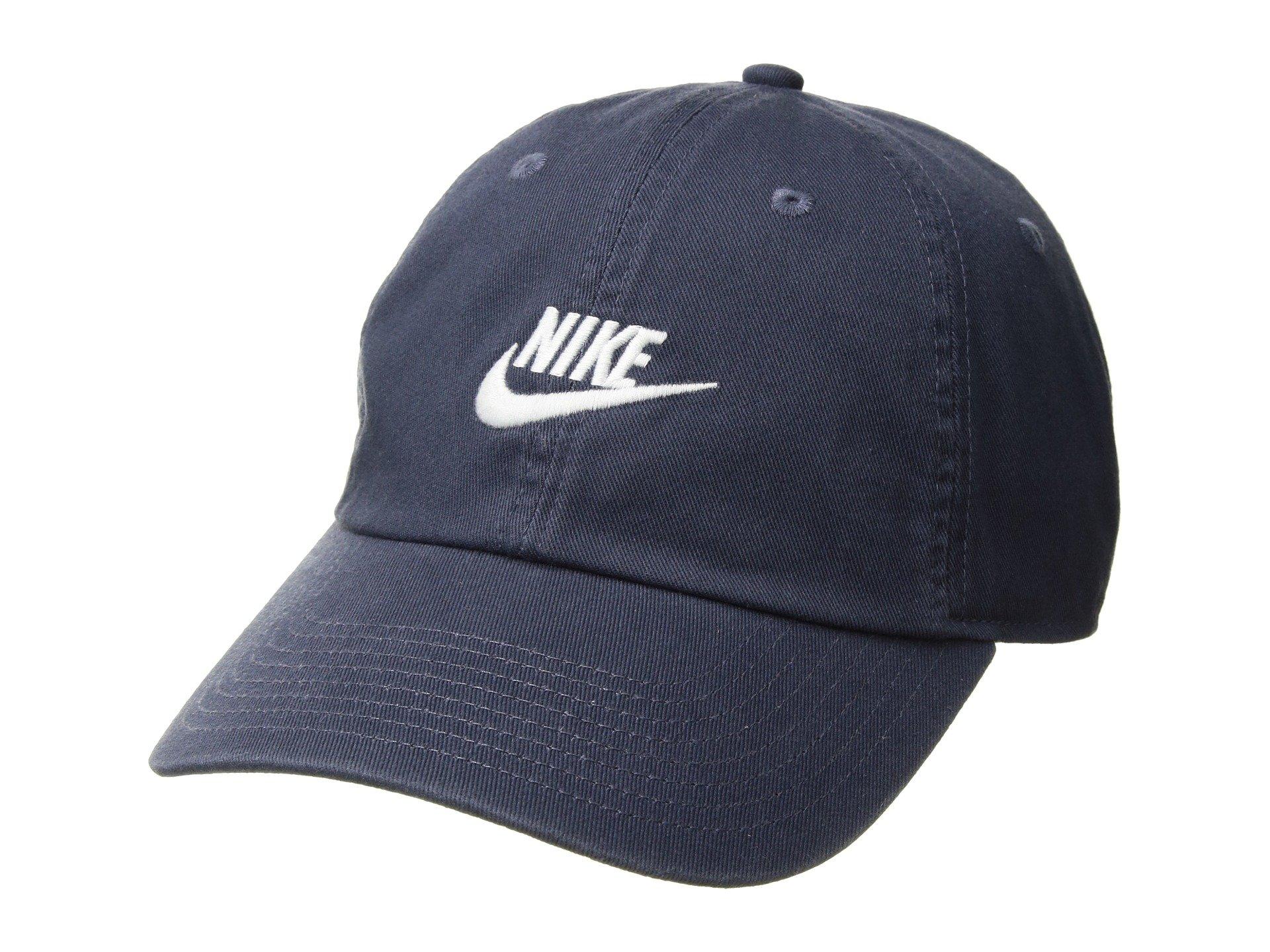 Nike Men's/Unisex Heritage 86 Hat (Thunder Blue/White)