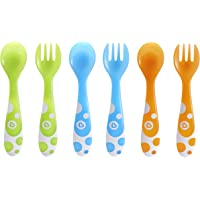 6-Pc Munchkin Fork and Spoon Set