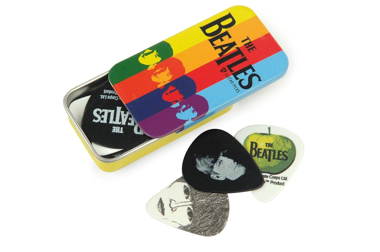 Planet Waves Beatles Signature Guitar Pick Tins, Logo, 15 picks D'Addario &Co. Inc 1CAB4-15BT1