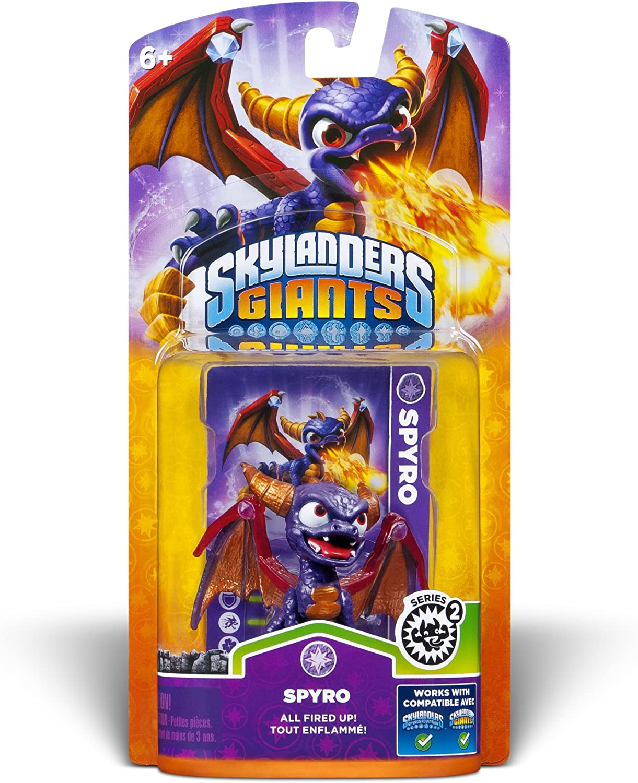 Activision Skylanders Giants Single Character Pack Core Series 2 Spyro: Amazon.es: Juguetes y juegos