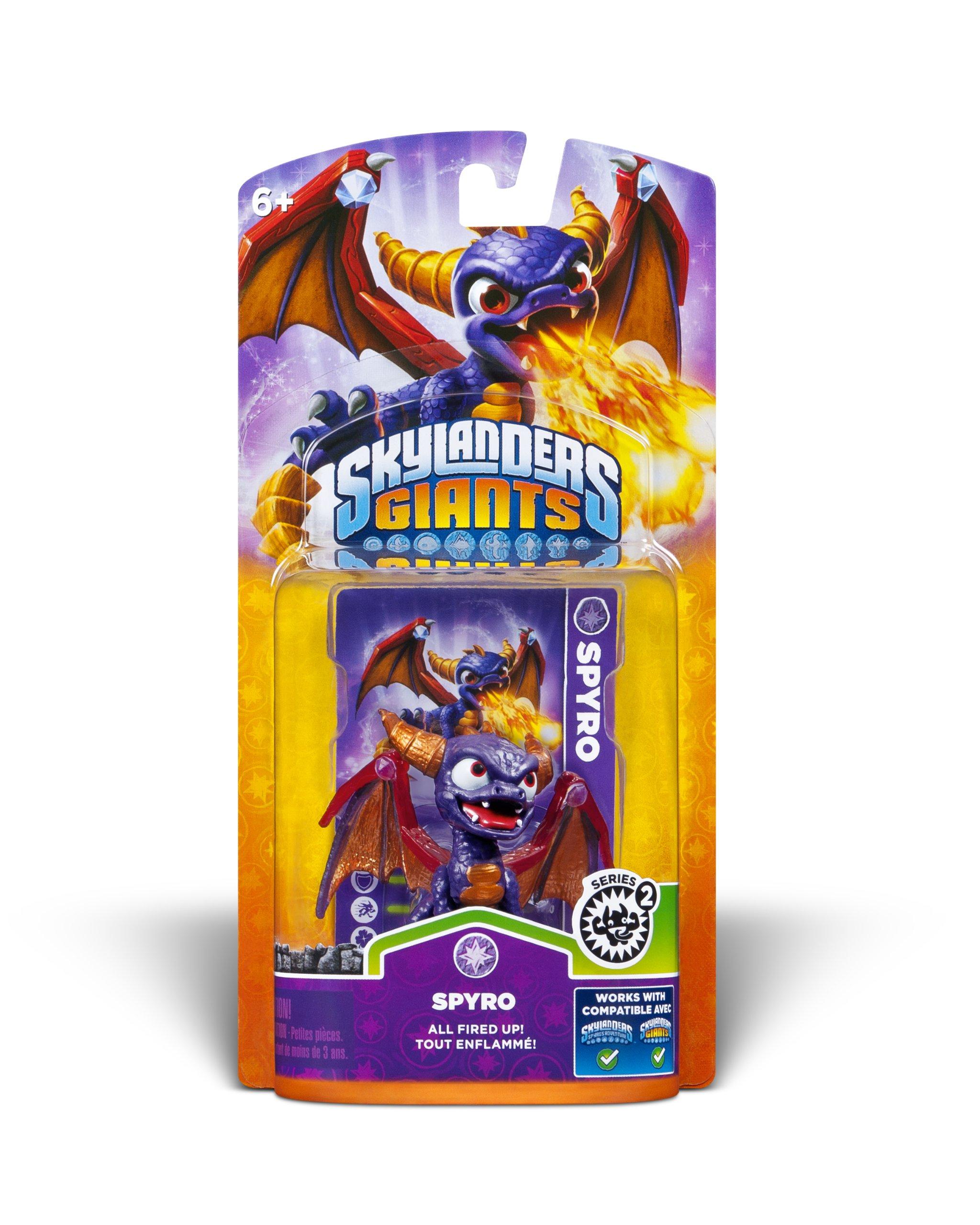 Skylanders Giants: Single Character Pack Core Series 2 Spyro