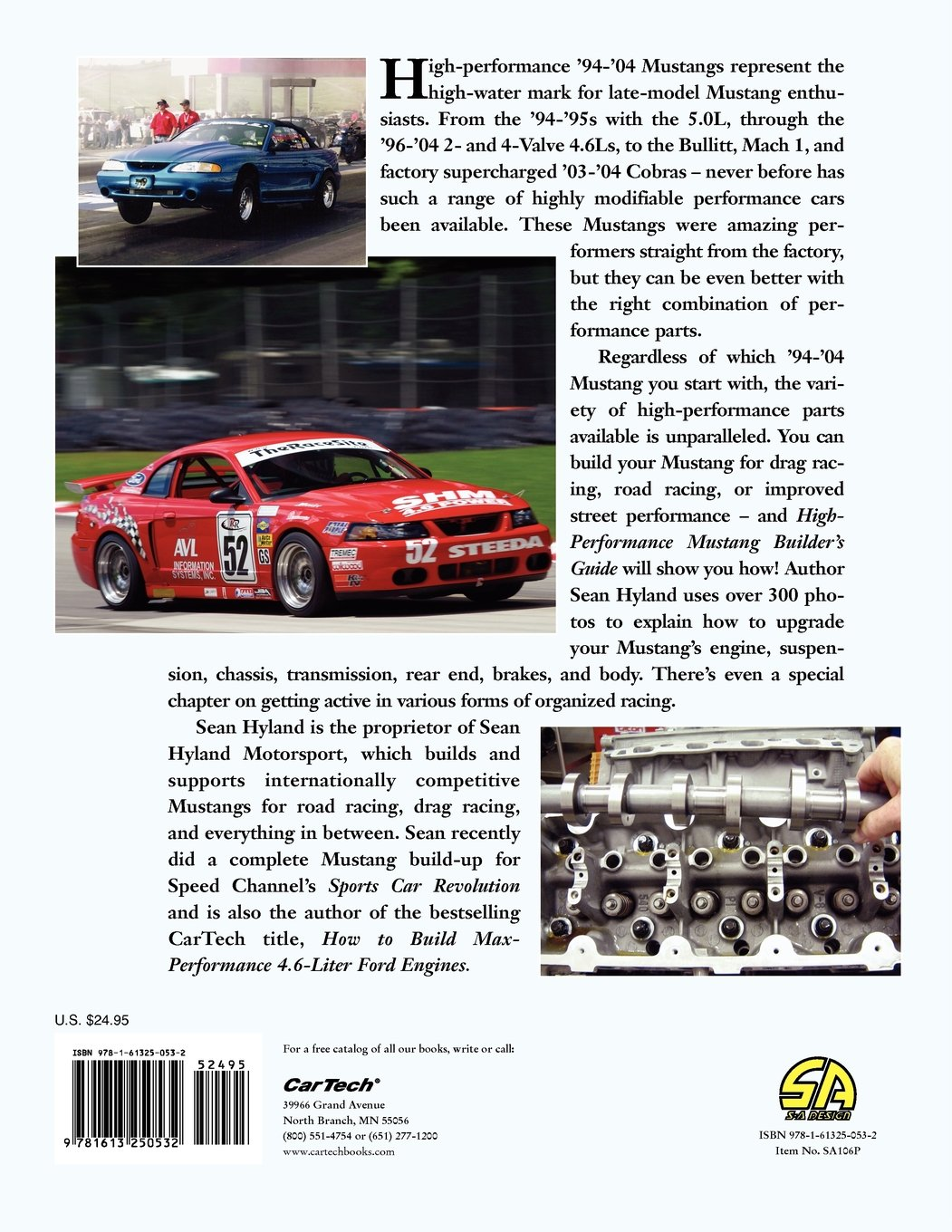 High-Performance Mustang Builder's Guide 1994-2004: Sean Hyland:  9781613250532: Amazon.com: Books