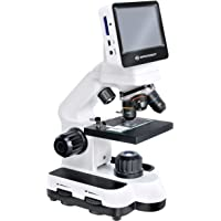 Bresser 5201010 Microscope LCD Ecran Tactile Blanc