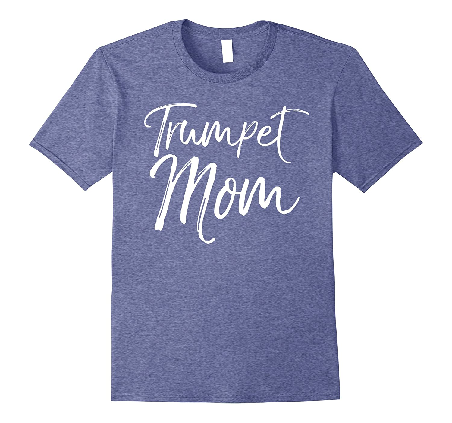 Trumpet Mom Shirt Proud High School Marching Band Mother Tee-CL
