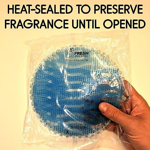 Amazon.com: Desodorizador de pantalla urinal (12 unidades ...