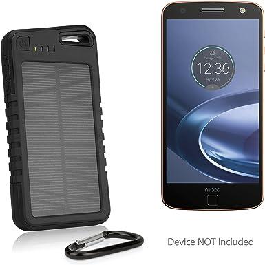 Motorola Moto Z fuerza Droid recargable, BoxWave [Solar Rejuva ...