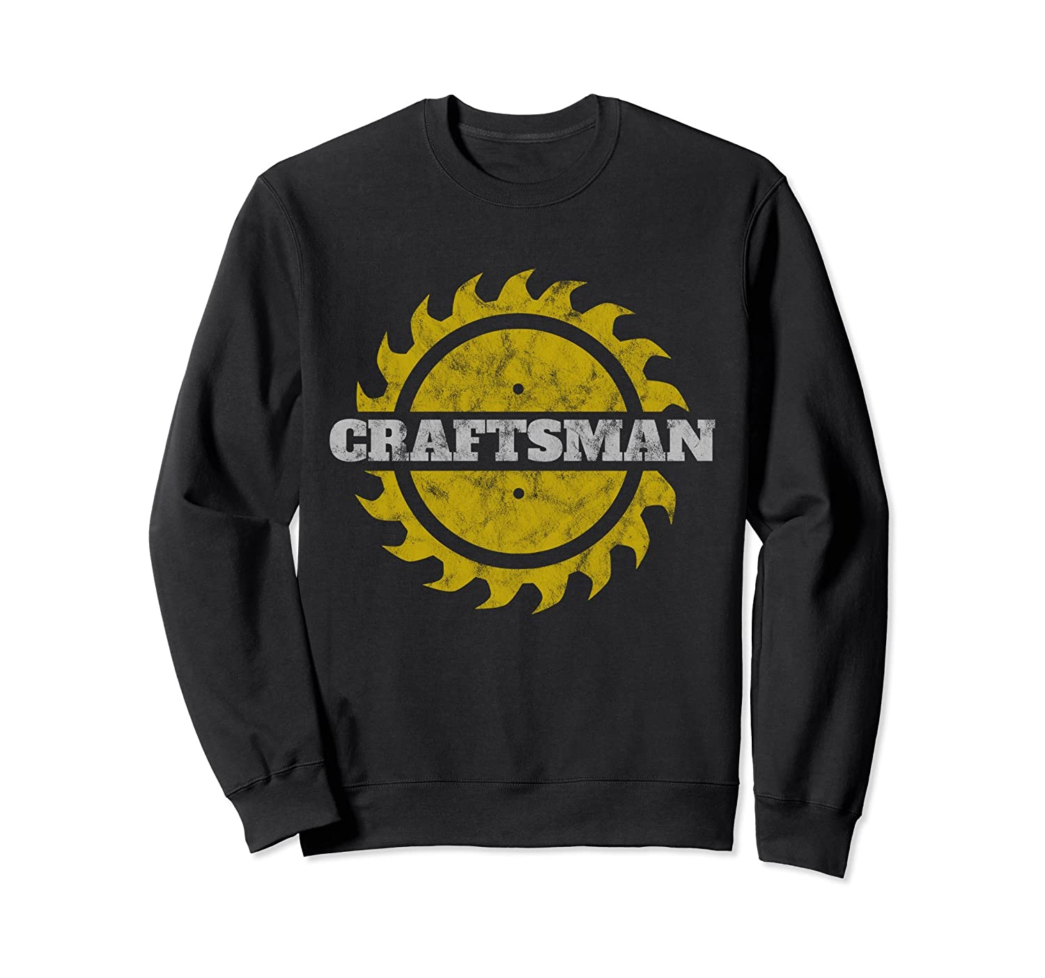 Craftsman Sweatshirt Golden Saw Blade Tool for Men-TH