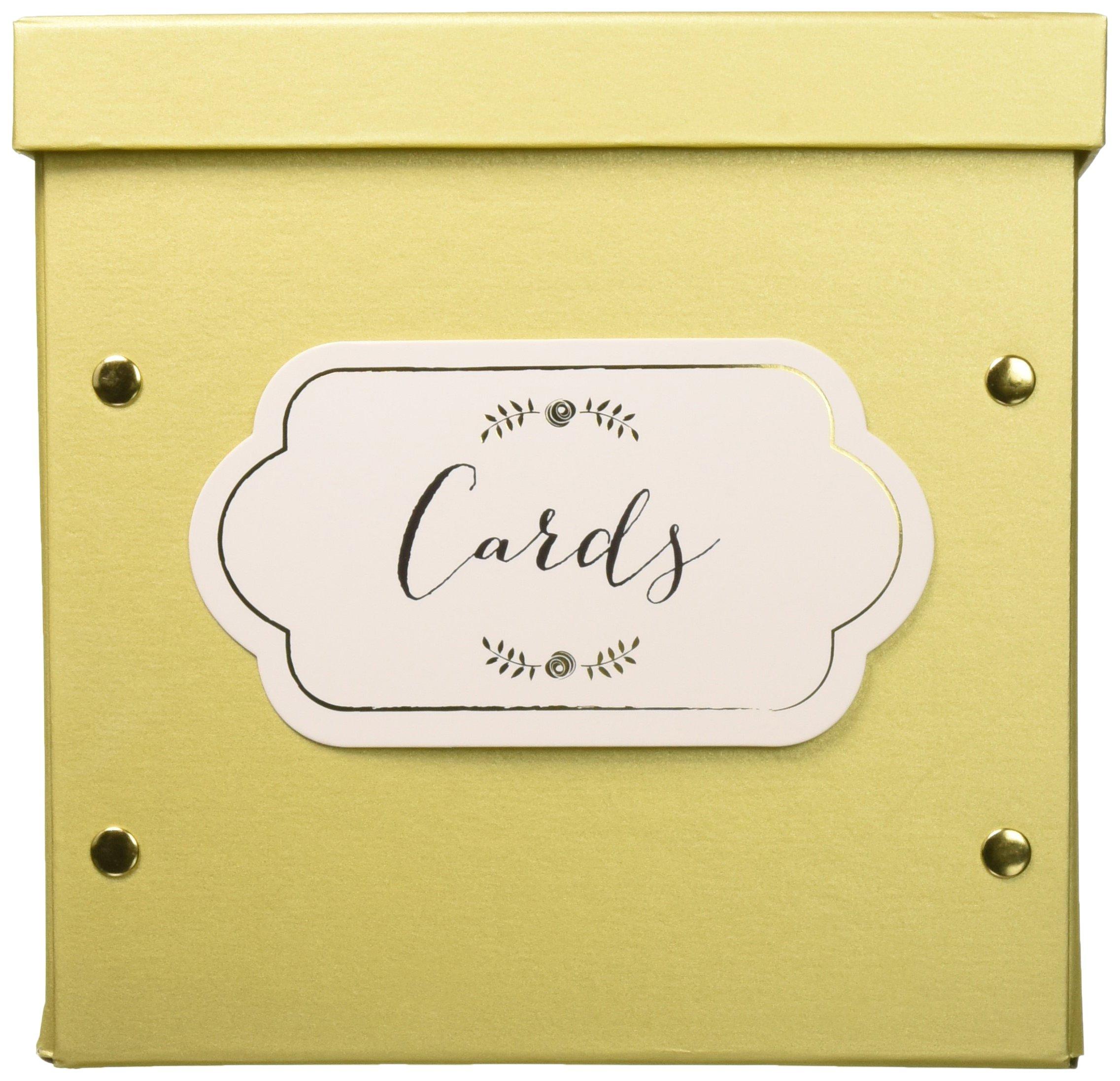 Amazon.com: Kate Aspen Collapsible Greeting Card Envelope Box, 10.2W ...