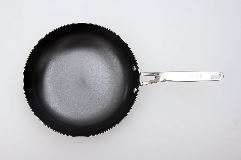 Zuhnë Lightweight Cast Iron Fry Pan/Skillet 10-inch and 12-inch Set