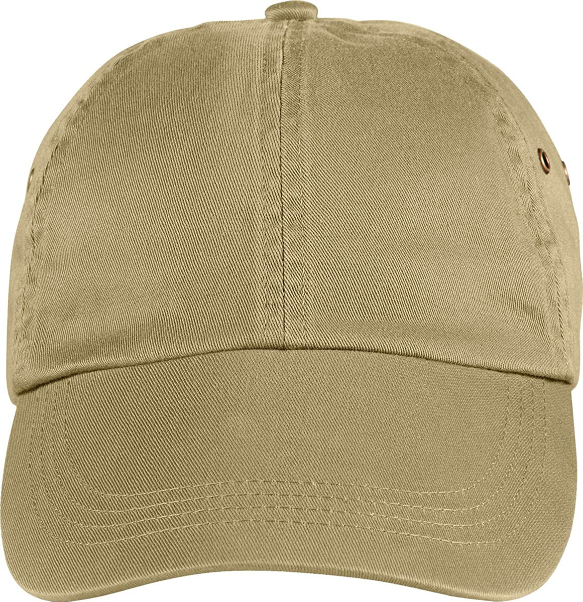 Anvil Unisex Brushed Twill Cap Black One Size 136