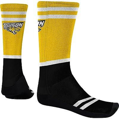 Spectrum Sublimation Men's Towson University Classic Sublimated Socks (Apparel)