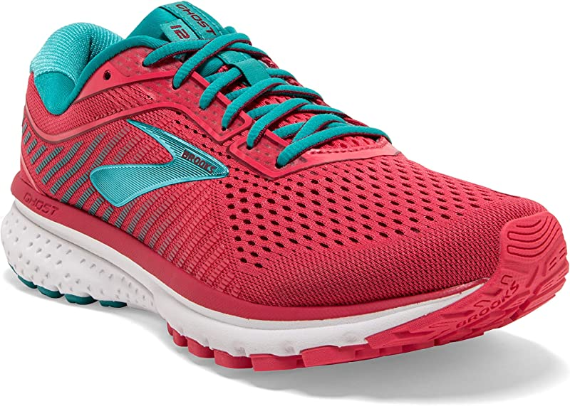 Brooks Ghost 12 Laufschuhe Damen Teaberry Rumba Viridian (rot)