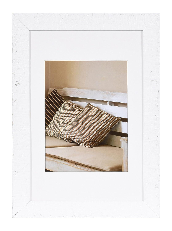 Amazon.de: Henzo 585788 Wandrahmen Driftwood 20 x 30 cm, Holz, weiß