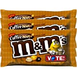 M&M's Coffee Nut Chocolate Candy, 10.20 Oz Bag - Pack Of 3