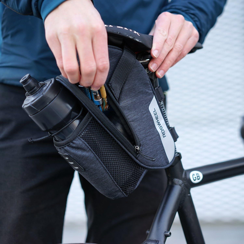 DCCN Borsa da Bicicletta Cornice Cover//Triangle Bag//Borsa per sellino//Borsa da 5,5/Pollici