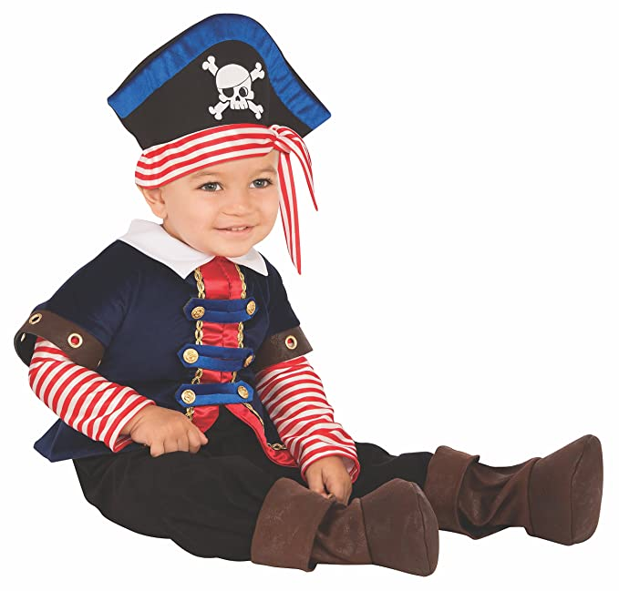 Amazon.com: Rubies Sailor - Disfraz de pirata para niño ...