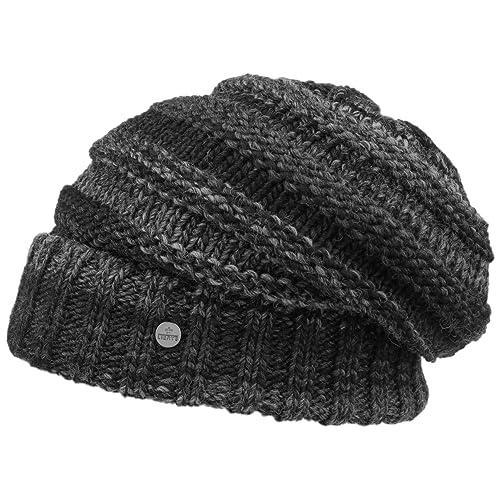 Bernardo Oversize Berretto Lierys berretto oversize berretti invernali a maglia cuffia con risvolto
