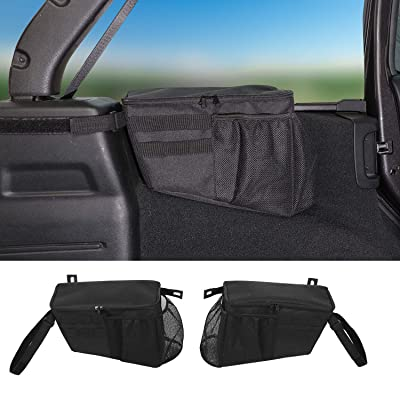 RT-TCZ Trunk Organizer,Storage Bag Accessories for 2020-2020 Jeep Wrangler JL 4-Door: Automotive