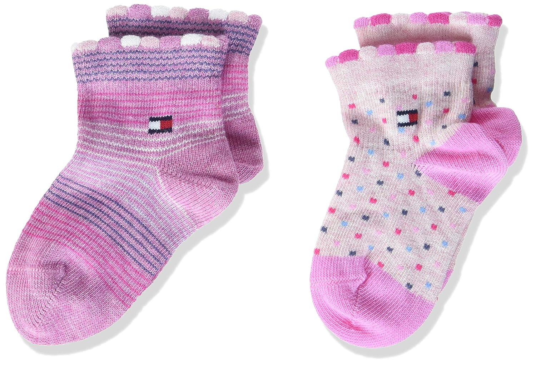 Tommy Hilfiger Chaussettes Mixte bébé (Lot de 2) 485017001