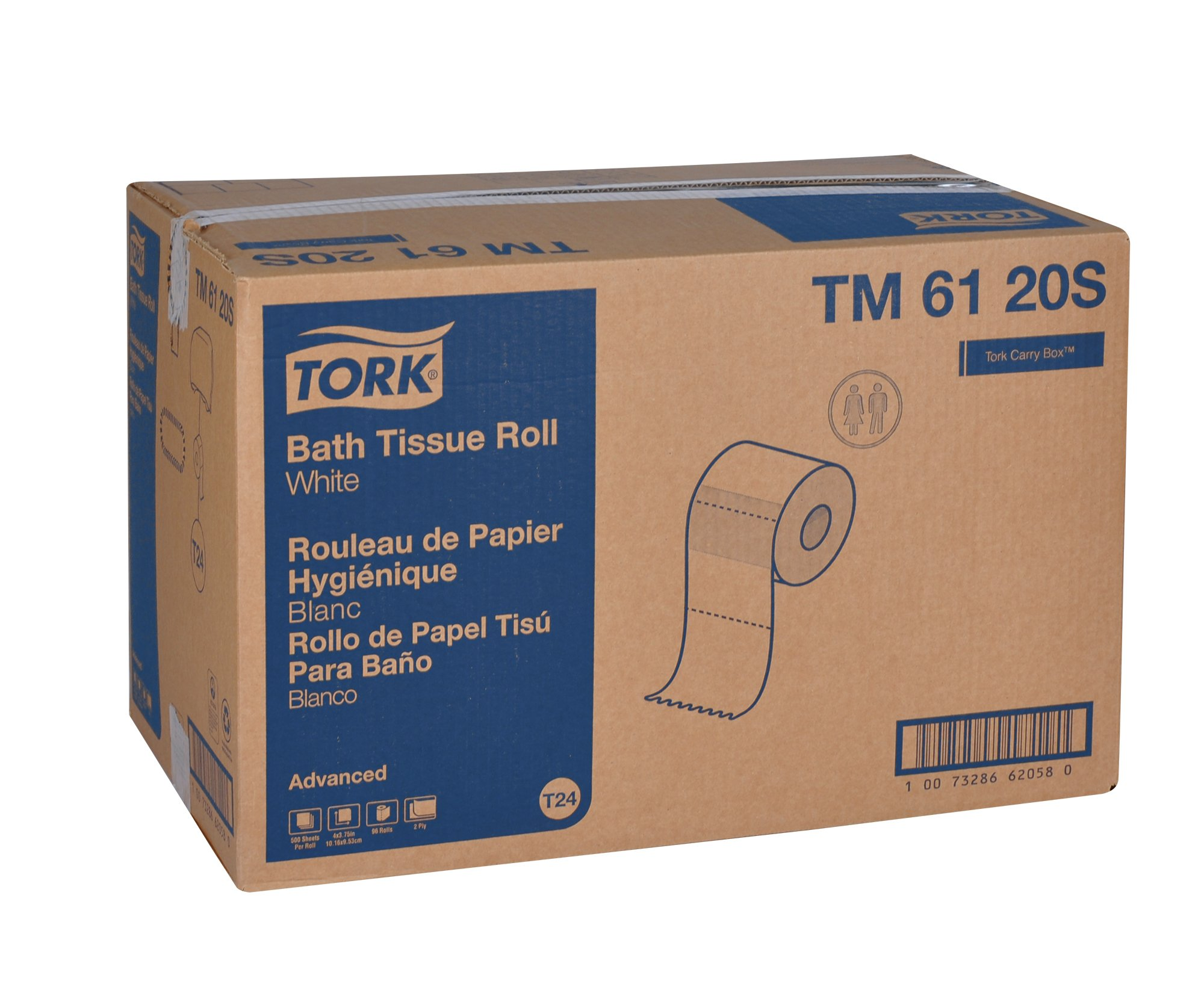 Tork Advanced TM6120S Bath Tissue - case