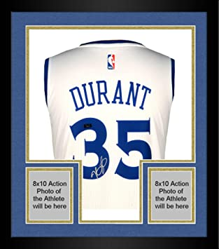 Framed Kevin Durant Golden State Warriors Autographed White Swingman Jersey  - Panini Authentic - Fanatics Authentic b8adc1e3d