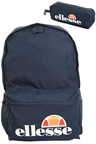 With Ellesse Rolby Pencil Backpack 0591 Navy Case t7tqwrIRn