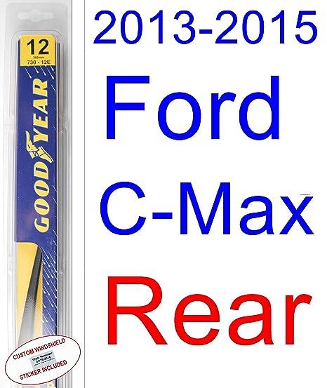 wiper blades ford c max 2015