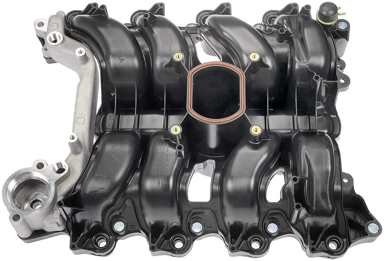 Dorman 615-175 Upper Plastic Intake Manifold - Includes Gaskets for Select Ford/Lincoln/Mercury Models (MADE IN USA)