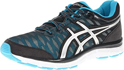 Asics Men's Gel-Nerve33 Athletic Running Shoes (US 8.5, Grey Silver  Electric)