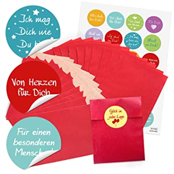 24 pequeñas bolsas de papel Bolsas de regalo del paquete de ...