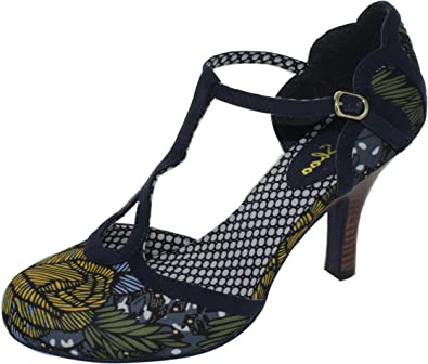 Vegan 9 Print Polly eu T Bar Shoo Friendly Jungle Ruby Ladies Uk Shoes wPq0xU