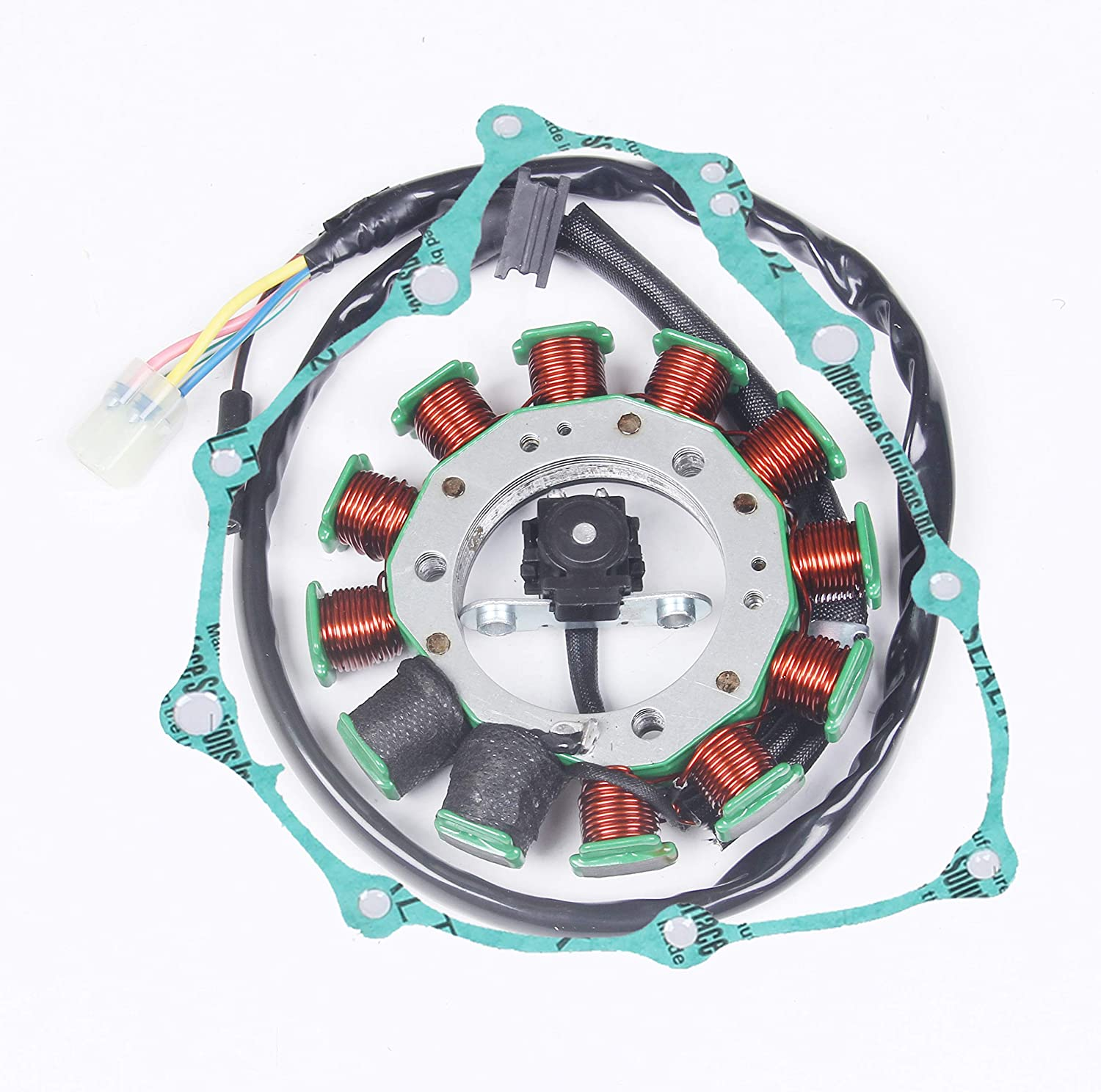 New Magneto Stator Coil and Cover Gasket for Honda TRX400EX Sportrax 400 TRX400X 2x4 1999-2014