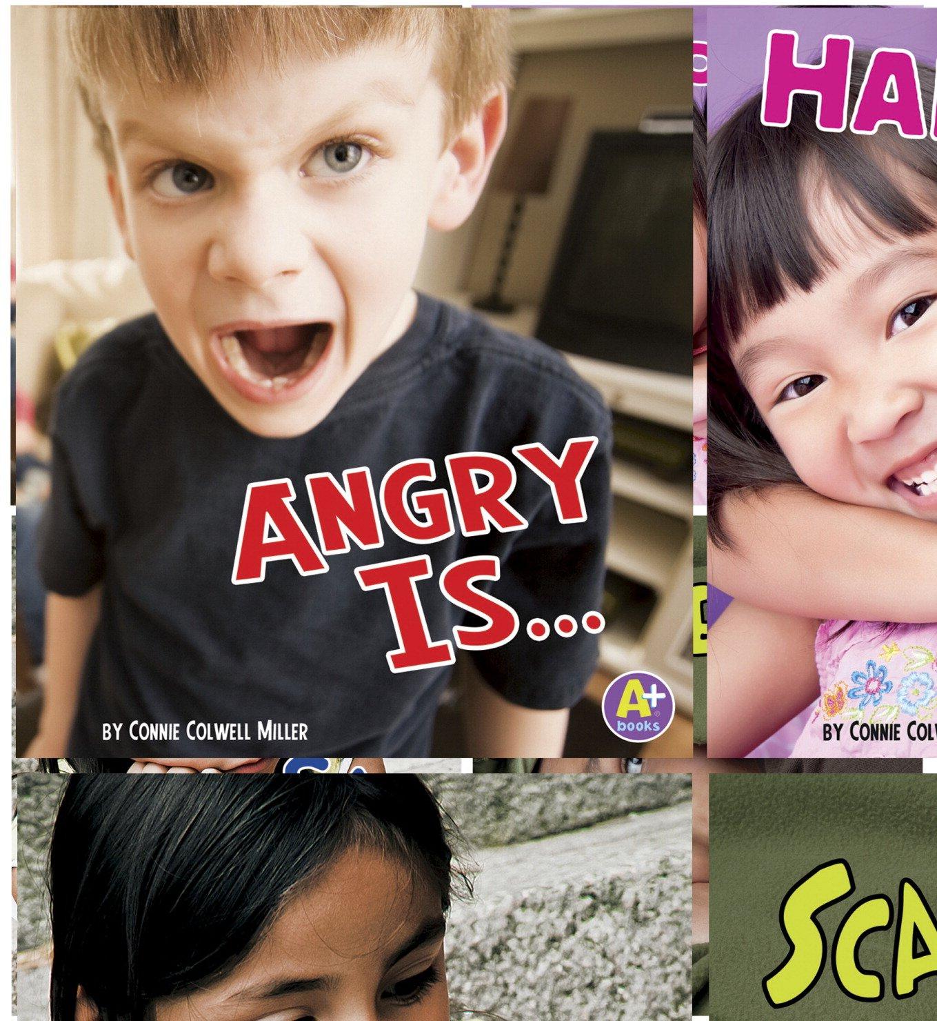 Capstone Press Know Your Emotions Book Set Book Set, Grades PreK to 2, Set of 4