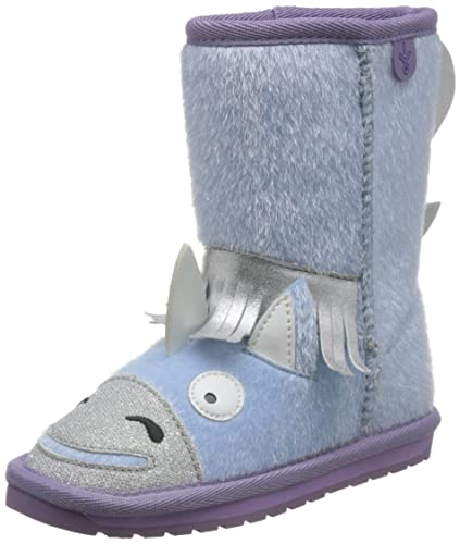 91c2015db11667 EMU Australia Kids Unicorn Deluxe Wool Boots Size 8 Pale Blue