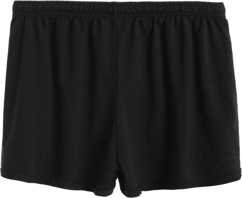 Latuza Womens Cotton Stretchy Lounge Sweat Shorts